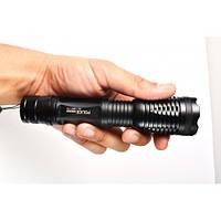 Практичный ручной фонарь Bailong BL-1837-T6 50000W. Качественный фонарик. Удобный фонарь. Купить. Код: КДН1345