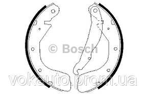 Тормозные колодки барабанные (Щёки тормозные) ASTRA,CORSA 92- (200*28)