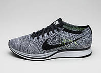"Кроссовки Nike Flyknit Racer ""Black/Grey/White"""