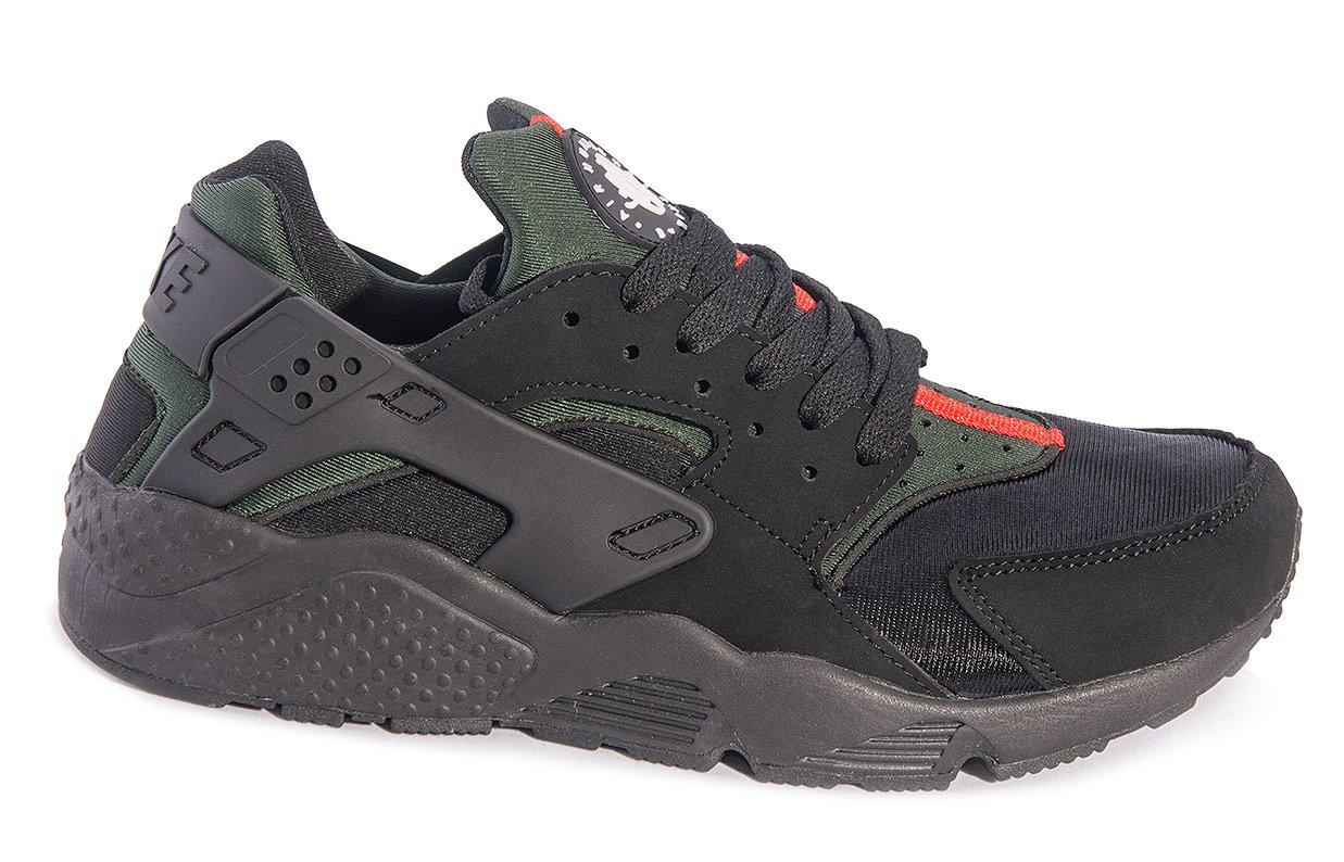 "Кроссовки Nike Huarache ""Black/Green"""