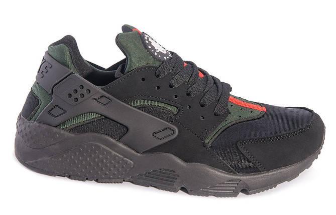 "Кроссовки Nike Huarache ""Black/Green"", фото 2"