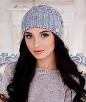 Женская шапка Braxton Агата серая