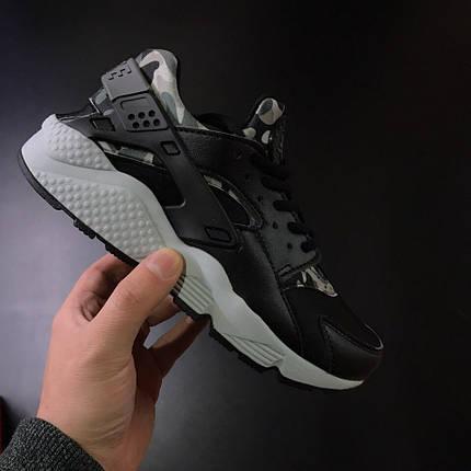 "Кроссовки Nike Huarache ""Camo/Black/Grey"", фото 2"