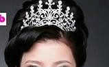Корона, диадема, тиара, высота 9 см., фото 5