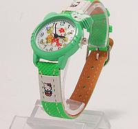 Часы наручные детские китти (диаметр 27 мм )