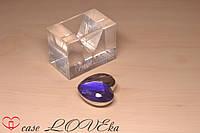 """Флешка 16GB """"Сердце с синим кристаллом"""" 16"""