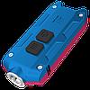 Фонарь Nitecore TIP Winter Edition (Cree XP-G2, 360 люмен, 4 режима, USB), красный/синий