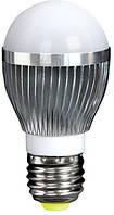 Лампа светодиодная e.save.LED.G50C.E27.3.2700 тип шар, 3Вт, 2700К, Е27 (ал)