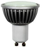Лампа светодиодная e.save.LED.GU10F.GU10.4.2700, цоколь GU10, 4Вт, 2700К (ал)