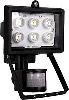 Прожектор світлодіодний с датчиком движения e.light.LED.sensor.150.6.6.2700.black 6Вт черный