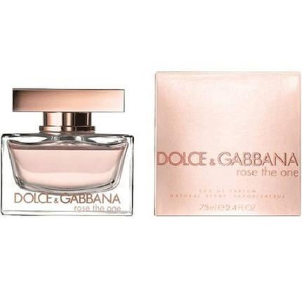 Женские духи Dolce & Gabbana Rose The One edp 75 ml, фото 2