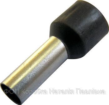 Изолированный наконечник втулочный e.terminal.stand.e2508.grey 2,5 кв.мм, серый