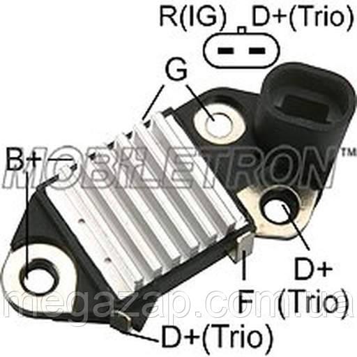 Регулятор напряжения генератора Matiz (для генератора DELPHI)