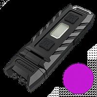 Фонарь многофункциональный Nitecore THUMB LEO (1LED+UV LED, 45 люмен, 3 режима, USB)