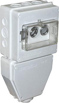 Коробка монтажная пластиковая SB IP 43 под автоматический выключатель вкручивающийся