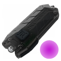Фонарь ультрафиолетовый Nitecore TUBE UV (500mW UV-LED , 365nm, 1 режим, USB), черный, фото 1