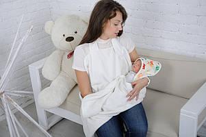 Полотенце «Мамина забота», Веселые зверята, молочное