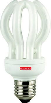 Лампа энергосберегающая e.save.flower.E14.7.2700, тип flower, цоколь Е14, 7W, 2700 К