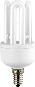 Лампа энергосберегающая e.save.4U.E14.11.6400, тип 4U, цоколь Е14, 11W, 6400 К