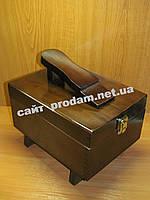 Деревянная коробка для обуви и аксессуаров