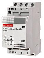 Модульный контактор e.mc.220.4.40.4NO, 4р, 40А, 4NO, 220 В