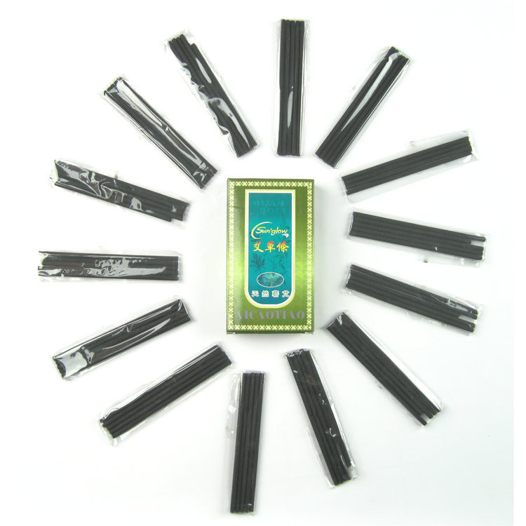 Полынные угольные сигары Моксы бездымные 30шт (7×120mm)