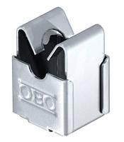 Безболтовой держатель для круглых проводников d 8 мм, со сквозным отверстием d 5 мм OBO Bettermann