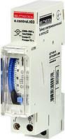 Таймер освещения электромеханический 18мм e.control.t03