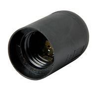Патрон пластиковый e.lamp socket.E27.pl.black
