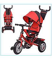 Детский трехколёсный велосипед Turbo Trike с надувными колёсами M 3113-3A