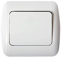 Выключатель e.install.stand.811/2+f.cer  лестничный с рамкой