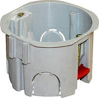 Коробка установочная e.db.stand.109.d65 гипсокартон, блочная, упор ПВХ