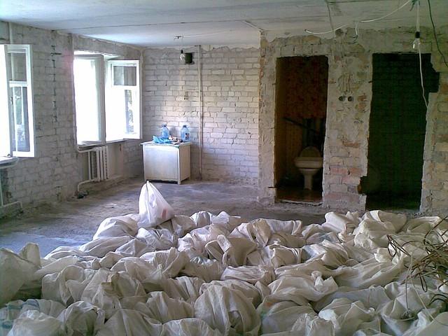 Реконструкция помещения