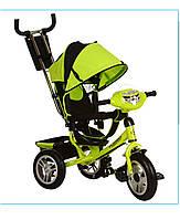 Трехколёсный детский велосипед Turbo Trike M 3115-4HA с надувными колесами
