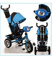 Трехколёсный детский велосипед Turbo Trike M 3115-5HA с надувными колесами