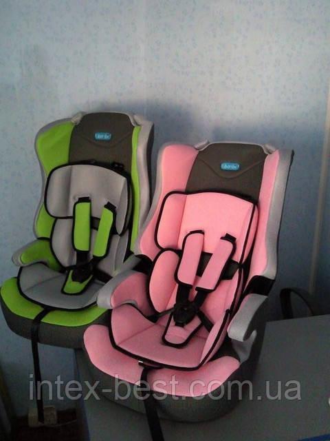 Автокресло детское Lb 513-1 (9-18 кг) с подушкой