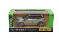 """Машина металл """"АВТОПРОМ"""" М1:24 """"Range Rover Evoque"""" (68244A)"""