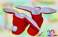 Домашние тапочки Зайцы, фото 1