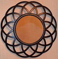 Настенное зеркало, имитация бронзы  (41 см.)