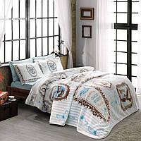 Tac Camille V03 Turcuaz постельное белье с пледом
