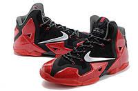 Оригинал. Кроссовки мужские Nike Lebron 11 красные(заказы отправляем без предоплат)