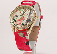 Часы наручные женские с цветами