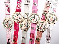 Часы наручные женские с цветами оптом