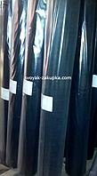 """Пленка черная """"Союз Планета Пластик"""", полиэтиленовая (для мульчирования, строительная) 80мкм , 6м/50м."""