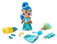 Кукла Шайн с набором одежды  из мультфильма  Шиммер и Шайн / Fisher-Price Shimmer and Shine Magic Dress Shine