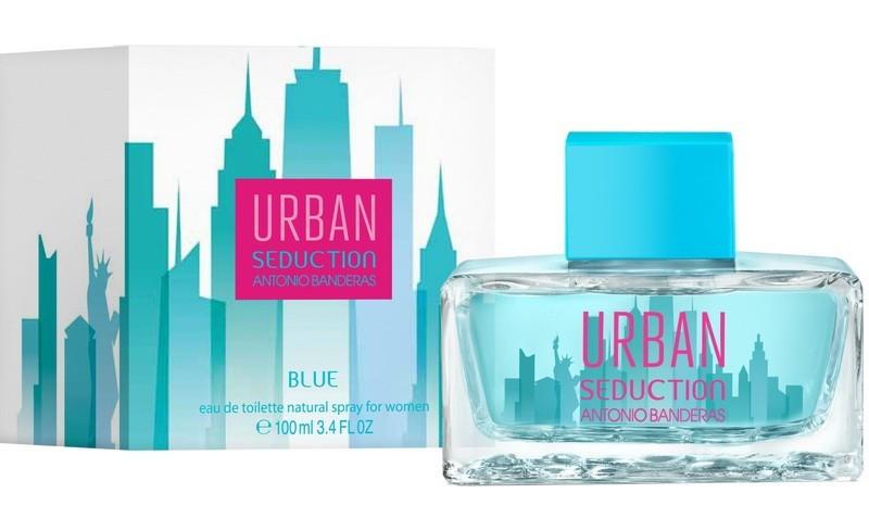 Женские духи Antonio Banderas Urban Blue Seduction For Woman edt 100ml