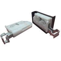 Подвес мебельный комплект + заглушка цинк