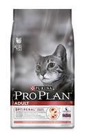 Корм для кошек с ласосем Pro Plan (Про План) Adult Salmon 10 кг.