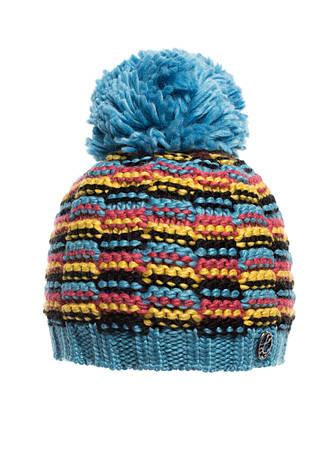 Тепла в'язана шапочка для дівчинки підлітка від Loman Польща, фото 2