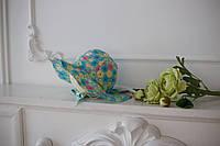 "Панама на завязках ""Весенние цветы"" 42-54 см, 3 размера"